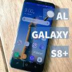 Lupa al Galaxy S8+