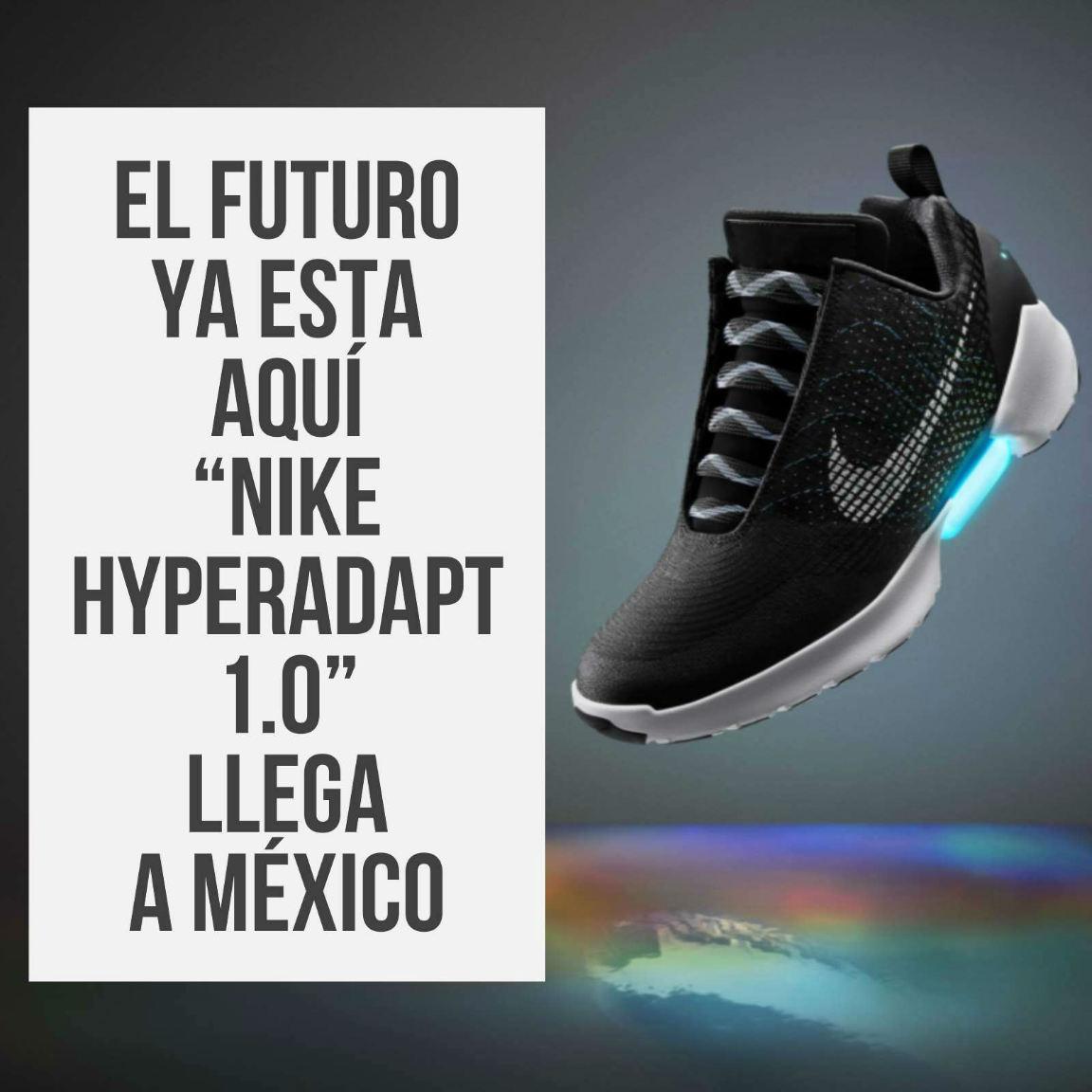 7d6716d4eca Así es el futuro nos alcanzo y los tenis que parecían de la imaginación de  volver al futuro ya están en México