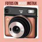 Fotos en modo Instax